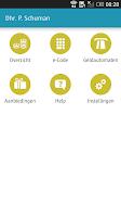 Screenshot of ICS Cards