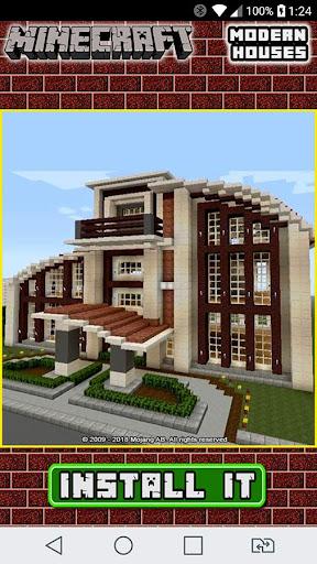 Download Modern Minecraft House Design Ideas For Mcpe Apk Full Apksfull Com