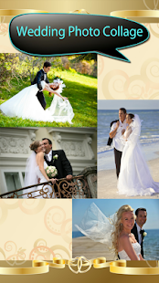 Svatební fotografická koláž - náhled