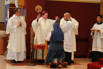 Photo: solemn blessing