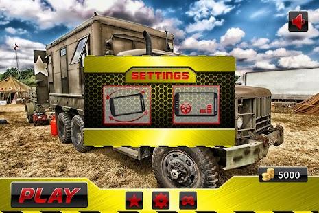 Army Battle field Transport 3D screenshot