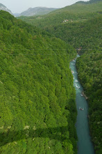 Photo: Deep canyon carved by Tara river, deepest river canyon in Europe