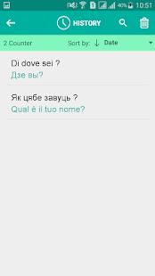 Belarusian Italian Translator - náhled