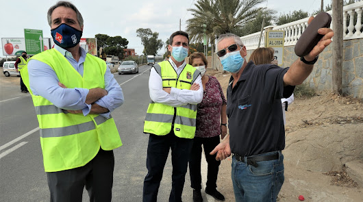 Obras para blindar la carretera de El Alquián y Bahía Alta contra las lluvias