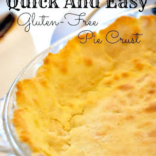Quick And Easy Gluten-Free Pie Crust.