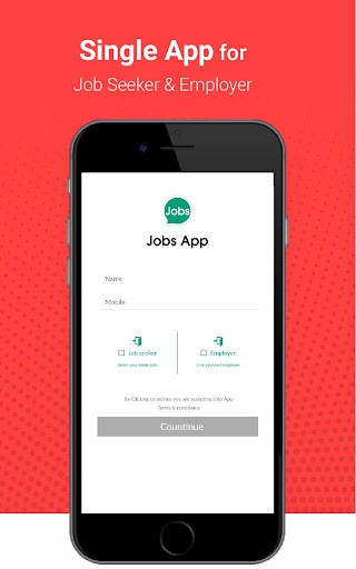Jobs App - Chat for Jobs screenshots 1