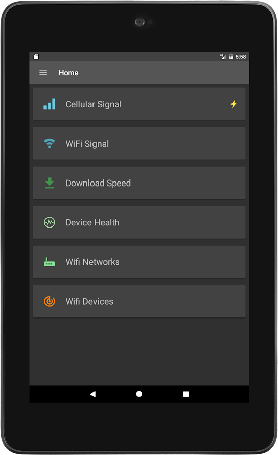 Signal Strength- screenshot