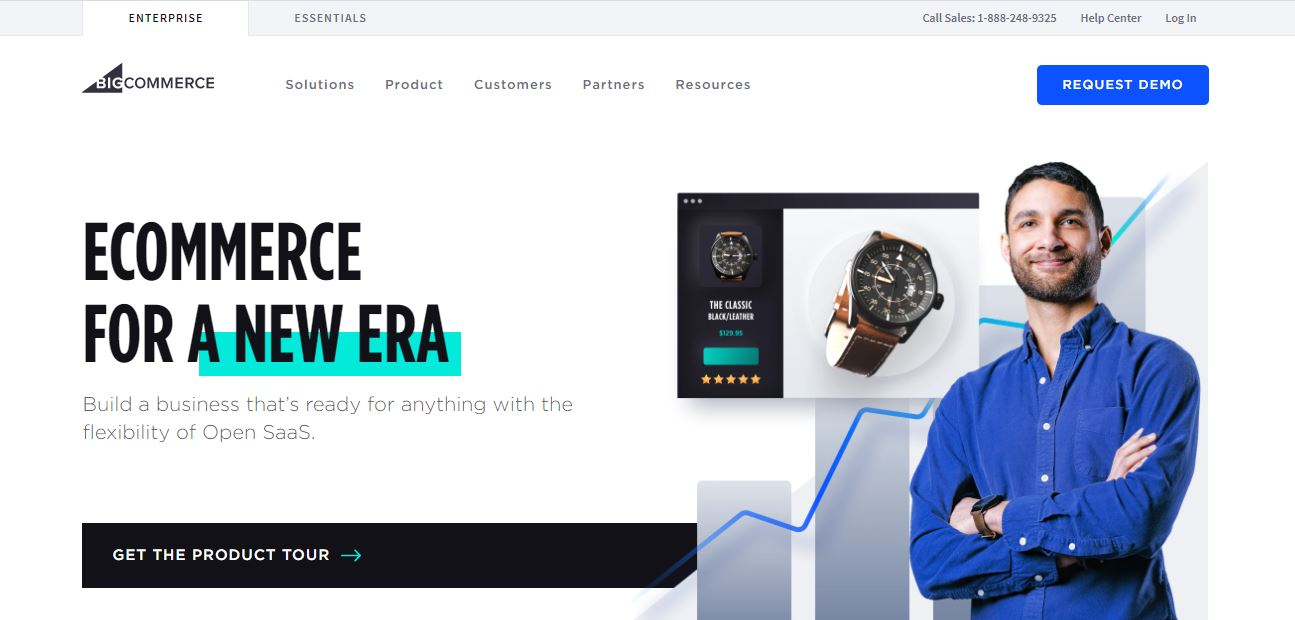 BigCommerce-image how to start a dropshipping business