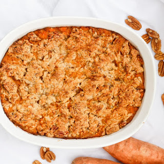 Kentucky Bourbon Sweet Potato Casserole