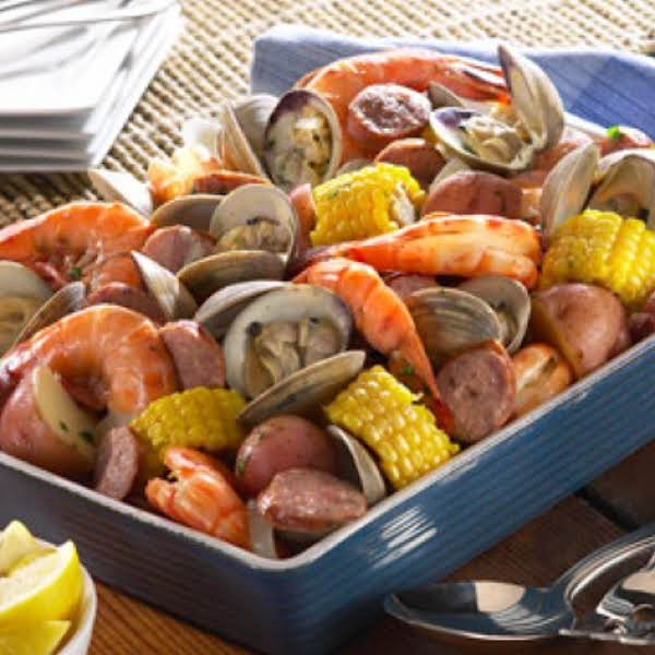 Core Sound Style Clam Bake Recipe