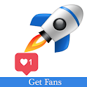 Get fans for Tok followers Tik - Hearts & Likes icon