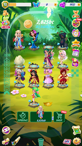 Merge Fairies - Best Idle Clicker apkmartins screenshots 1