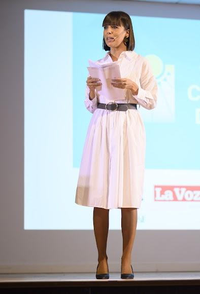 La periodista Marta Rodríguez ha sido la encargada de conducir el acto.