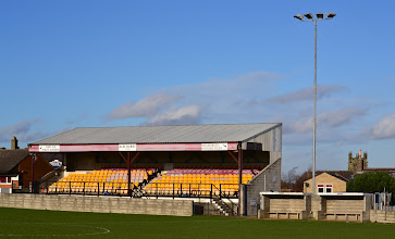 Photo: 23/11/12 - Ground photo from the Welfare Ground, home of AFC Emley (NCEL) - contributed by Andy Gallon