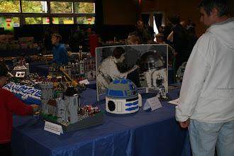 Photo: Archenval de Stéphane et mon petit stand dédié à R2-D2.