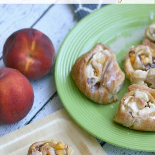 Peaches & Cream Morning Rolls