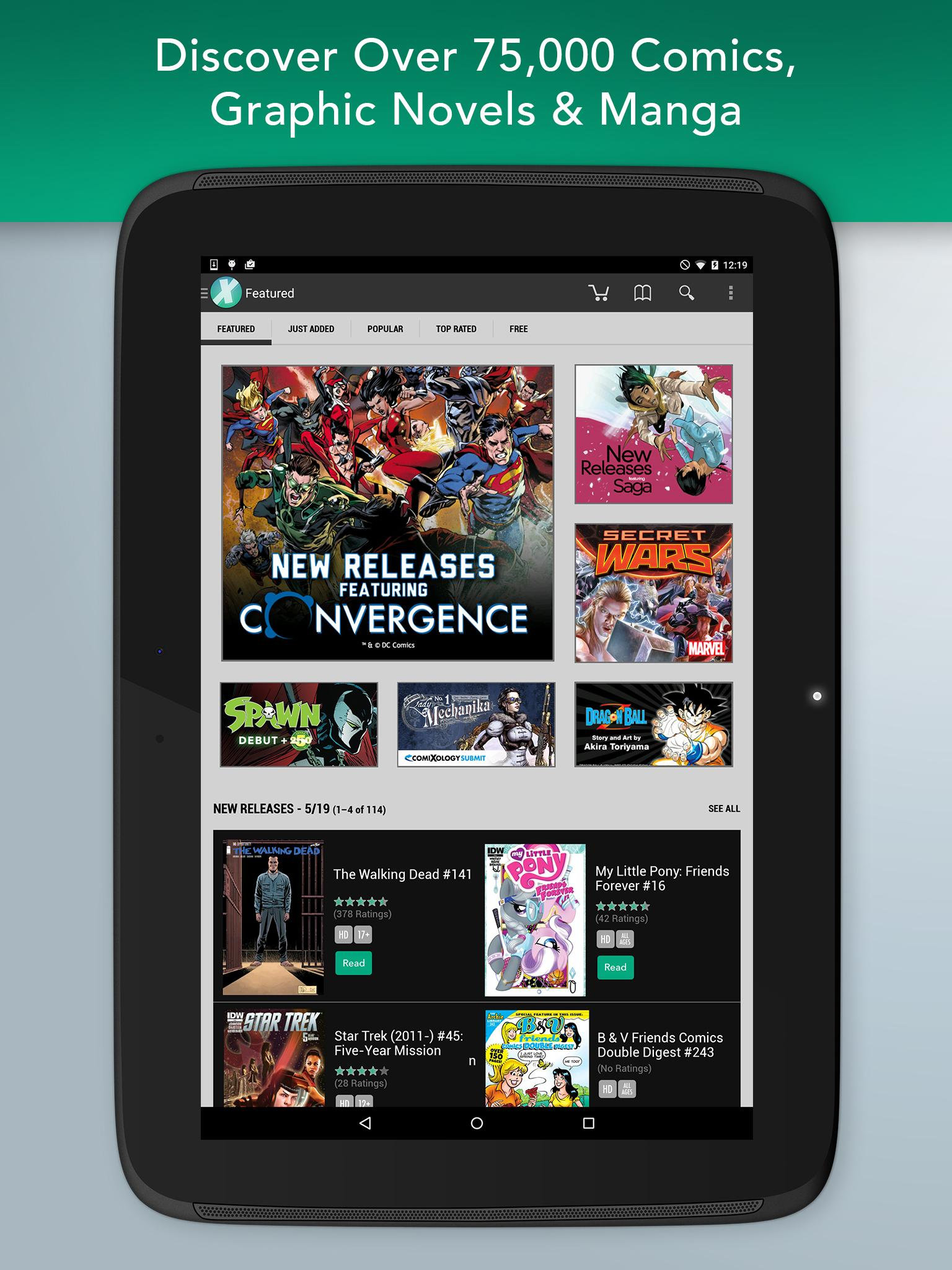 Comics screenshot #7
