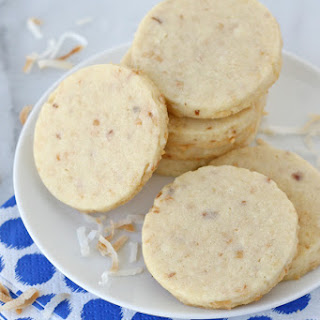 Coconut Cut Out Cookies