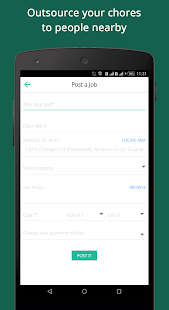 NearJobs - Nearby Odd Jobs- screenshot thumbnail