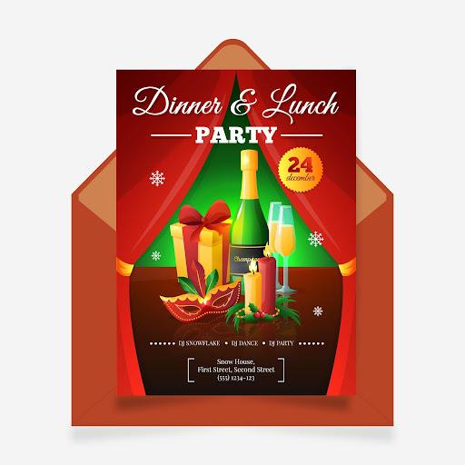 Download Lunch Dinner Invitation Card Maker Apk Full