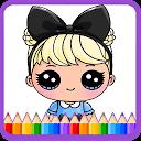Dolls Coloring Game (Lol Surprise Dolls) APK