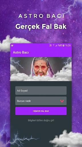 Astro Bacı - Gerçek Medyum Fal Bak screenshot 1
