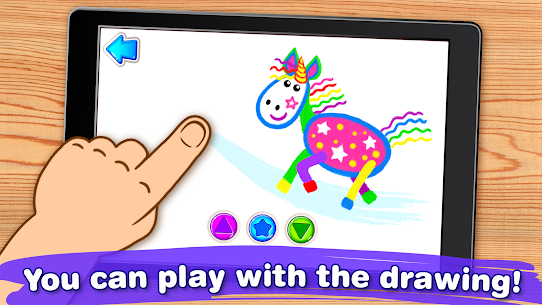 Drawing for Kids Learning Games for Toddlers age 3 Mod Apk Download For Android 4
