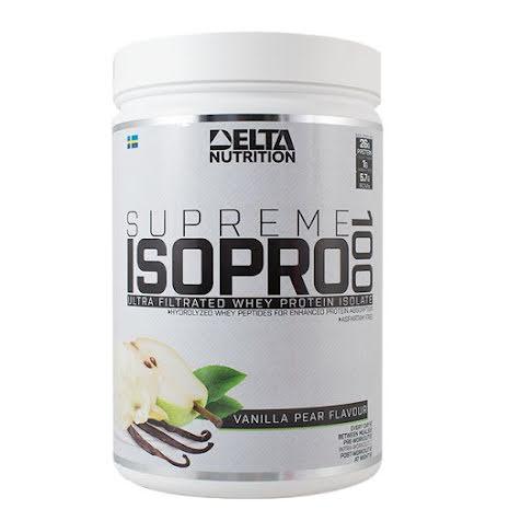 Delta Supreme ISO PRO 100, 900g - Vanilla Pear
