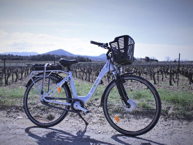 location de vélos électriques à l'Esclériade chambre d'hôtes à Vaison la Romaine
