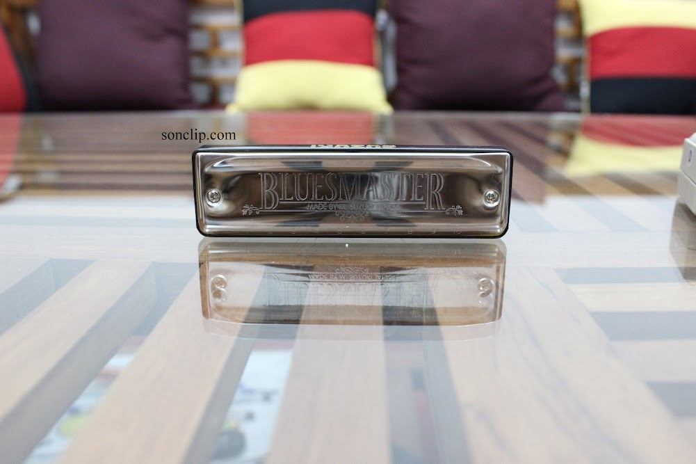 Kèn Harmonica - Suzuki BluesMaster MR-250 (key D)