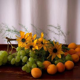 by Helena Jirasová - Food & Drink Fruits & Vegetables ( fruit with flowers )