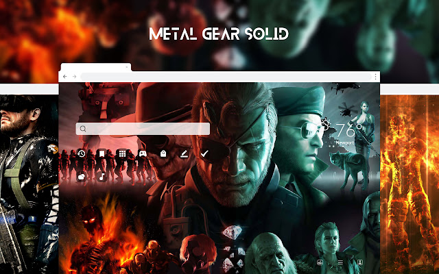Metal Gear Solid HD Wallpapers New Tab