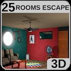 3D 25 Rooms Escape