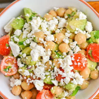 Chickpea, Tomato and Avocado Salad Recipe