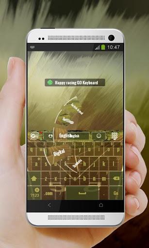 無料个人化AppのハッピーレースHappīrēsu GO Keyboard|記事Game