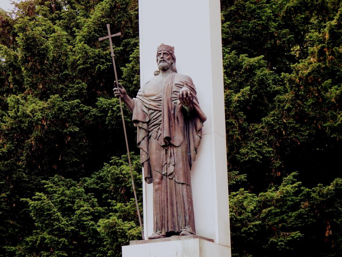Szombathely - Szent István-szobor