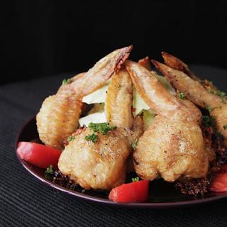 Pilaf Stuffed Chicken Wings.