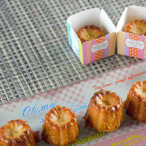 Calisson Cream Caneles