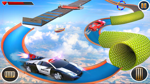 Police Car Chase GT Racing Stunt: Ramp Car Games android2mod screenshots 21
