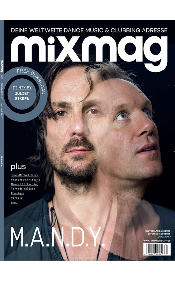 Mixmag · epaper- screenshot
