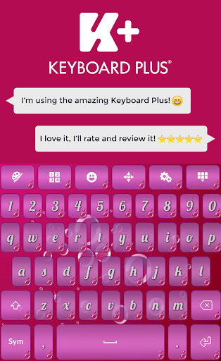 Color Bubbles Keyboard
