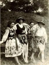 Photo: Jan Kieta,Helena Bukowska,Kazimierz Latocha.