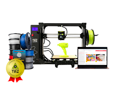 LulzBot TAZ Workhorse 3D Printer Educational Bundle  with 1 Year Extended Warranty