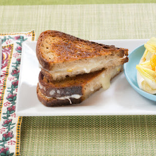 Provolone and Perserved Lemon Grilled Cheese