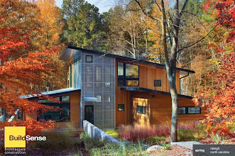 Photo: The 2011 Hodge-Nasir House, aka Spring, Raleigh NC, designed and built by Erik Mehlman AIA of BuildSense.Landscape: Tributary Land Design + Build