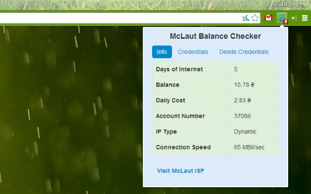McLaut Balance Checker