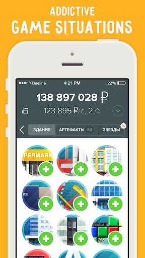 Rouble - idle money game business clicker apktram screenshots 3