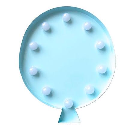 LED-lampa Ballong, blå