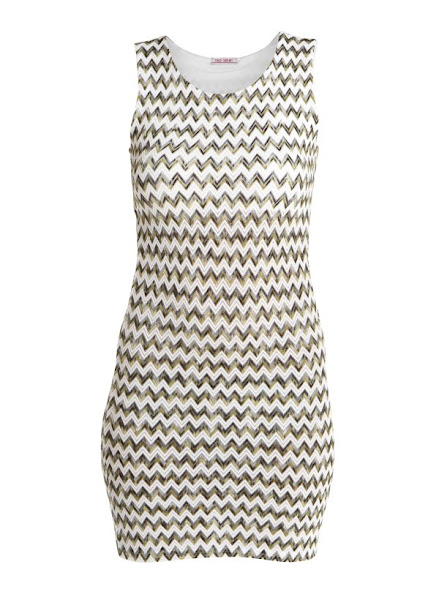 Photo: Red Label Knitted Chevron Shift Dress £19.99 http://bit.ly/M09LaD