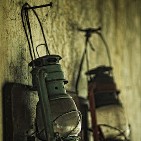 Couple Old Lamp by Fahmi Hakim - Artistic Objects Antiques